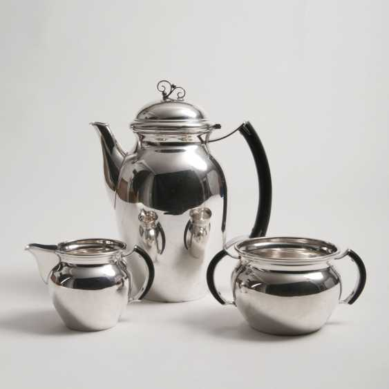 Jens Sigsgaard active 1932-1960. Art Deco Coffee Service - photo 1