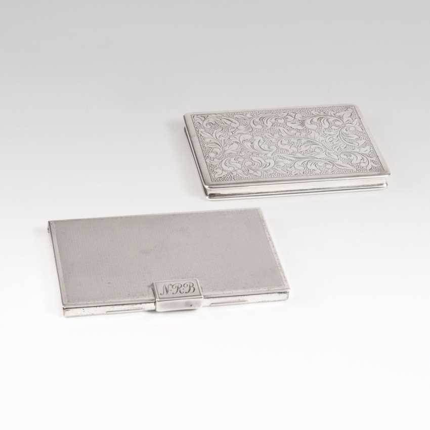 Two Business Card Holders - photo 1