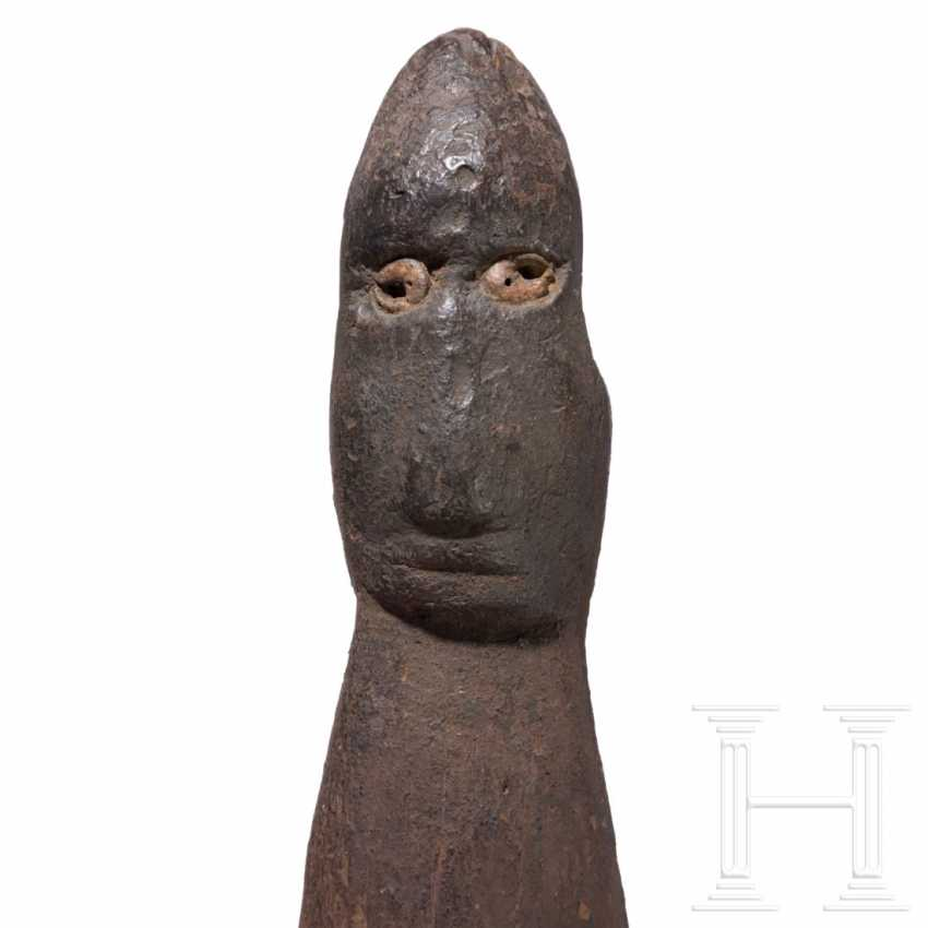 Hook for a food basket, Sepik, Papua New Guinea - photo 3