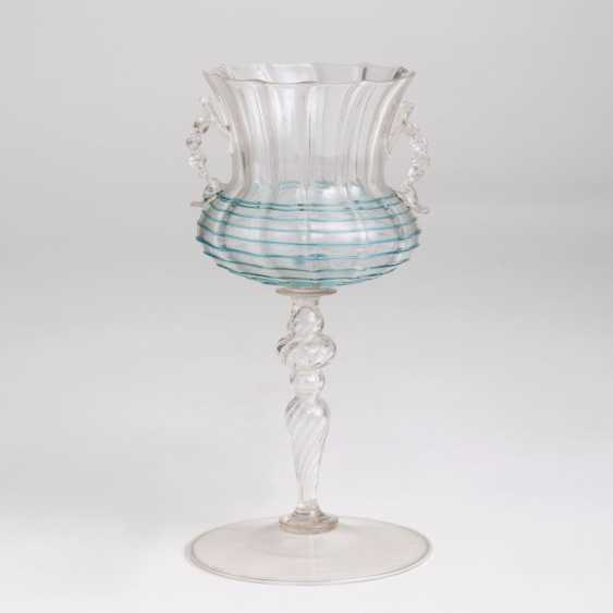 Venetian wine glass with thread requirements - photo 1