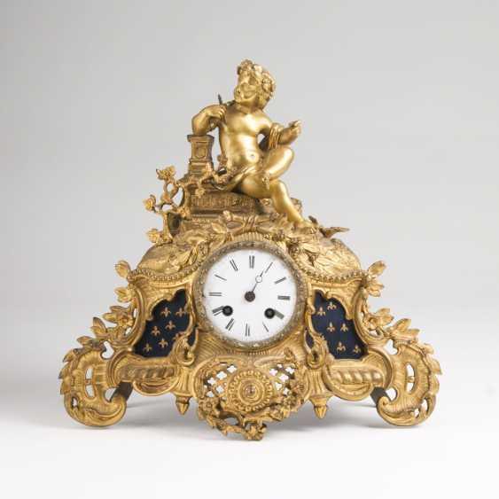 The Paris of Napoleon III-Pendule 'allegory of the arts' - photo 1