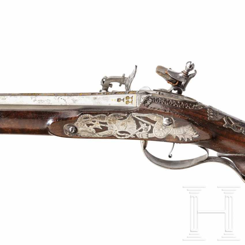 Silver-mounted snap-lock shotgun, Italy, around 1750 - photo 6