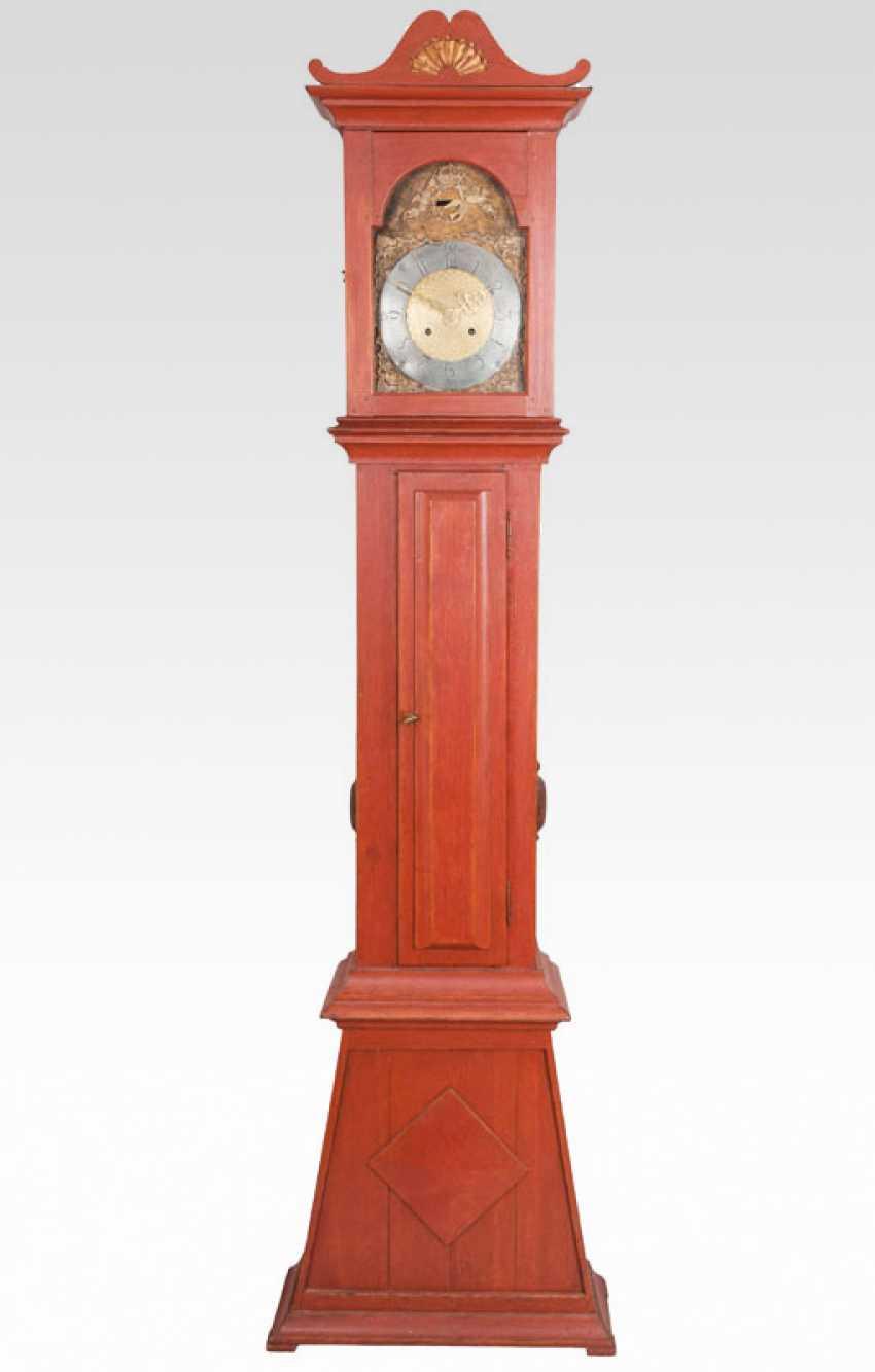 Neo-classical longcase clock by Johann C. Wibye - photo 1