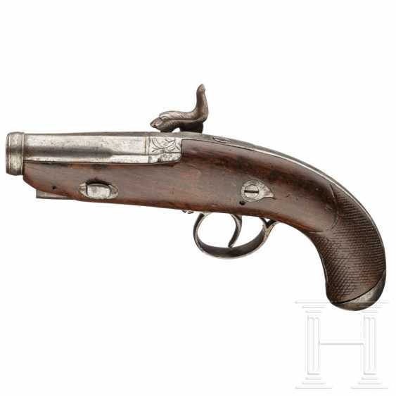 Percussion pistol, sim. a Deringer, Eibar, dated 1849 - photo 2