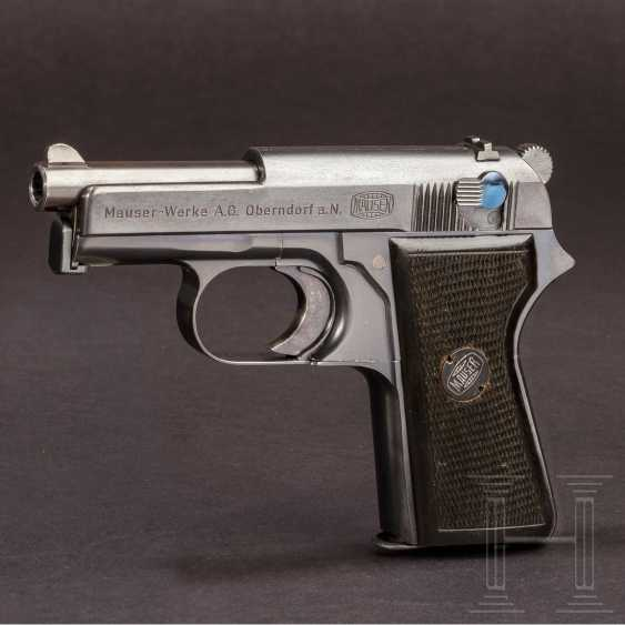 Mauser self-loading pistol - prototype with cock and revolver cocking - photo 1
