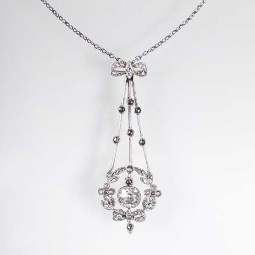 Russisches Jugendstil-Diamant-Necklace - photo 1