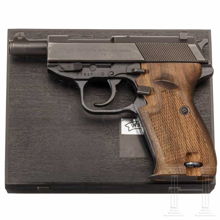 Walther P 5, first pre-series, in box, police - photo 4