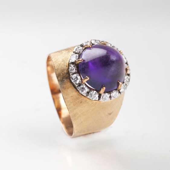 Vintage Amethyst-Brillant-Ring - photo 1