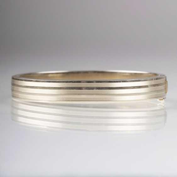 Gold Bangle Bracelet - photo 1