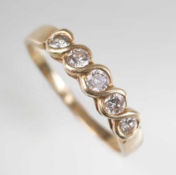Delicate Diamond Ring - photo 1