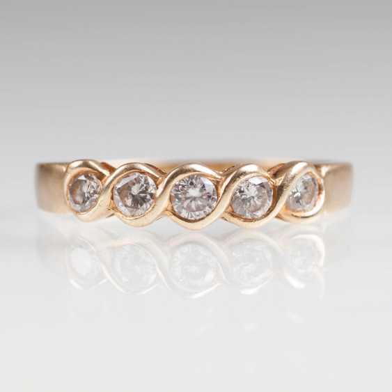 Delicate Diamond Ring - photo 2
