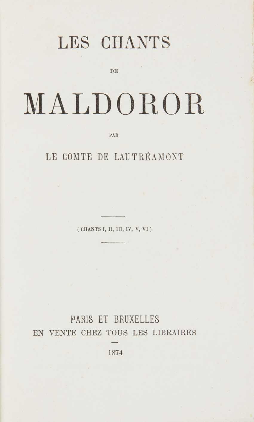 LAUTRÉAMONT, Isidore Ducasse, dit le comte de (1846-1870) Le... - photo 1