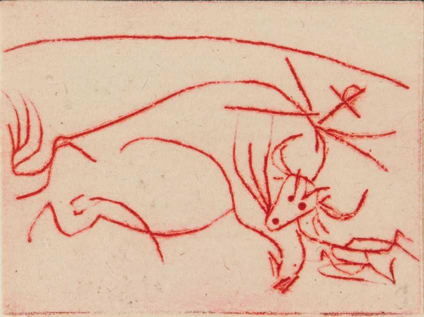 PICASSO, Pablo (1881-1973) -- BENOIT, Pierre André (1921-199... - photo 1
