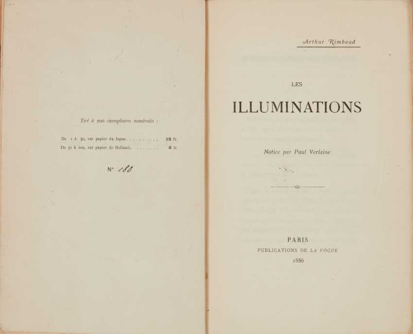 RIMBAUD, Arthur (1854-1891) Les Illuminations Notice par Pau... - photo 1