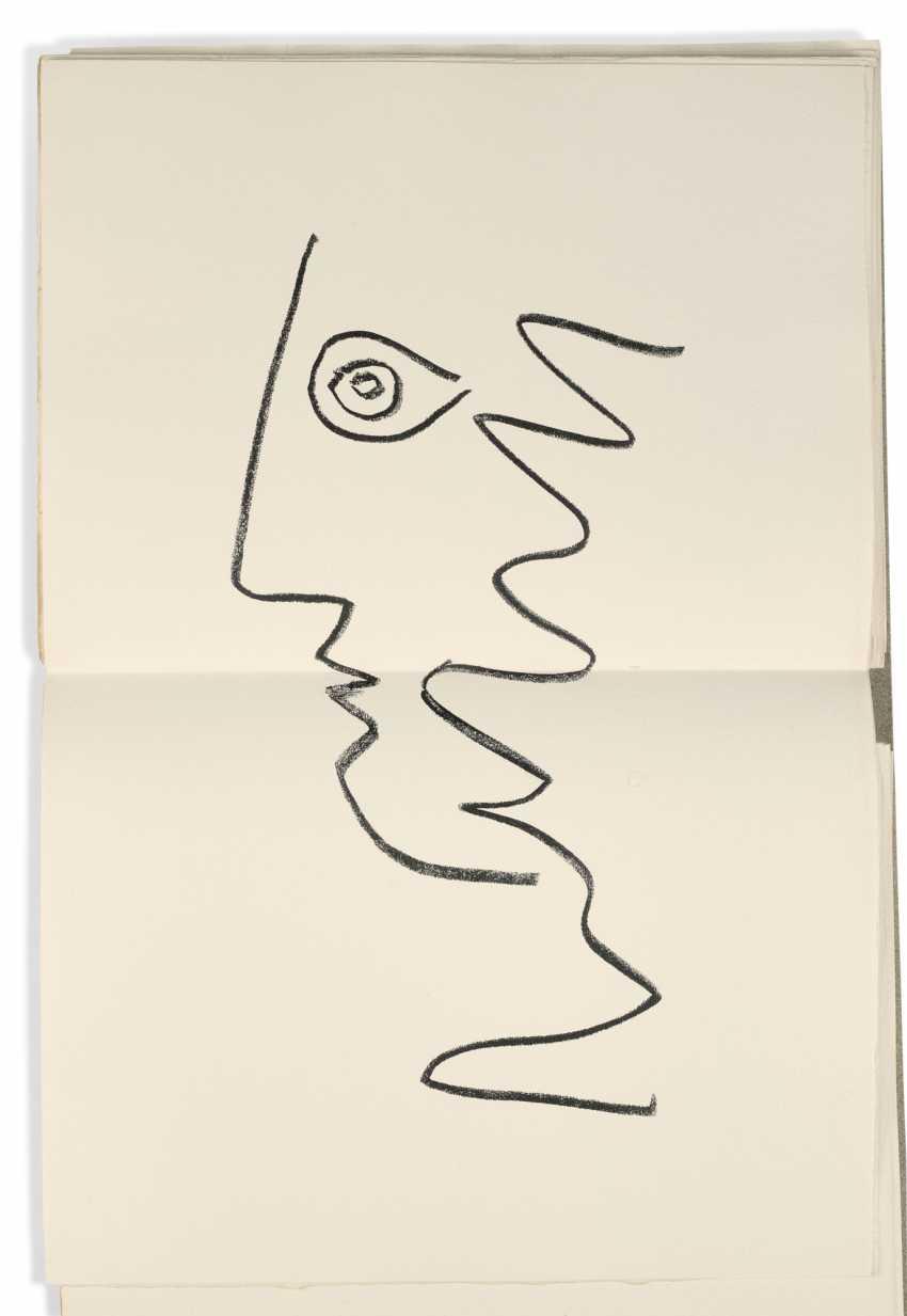 PICASSO, Pablo (1881-1973) - COCTEAU, Jean (1889-1963) Picas ... - Foto 3