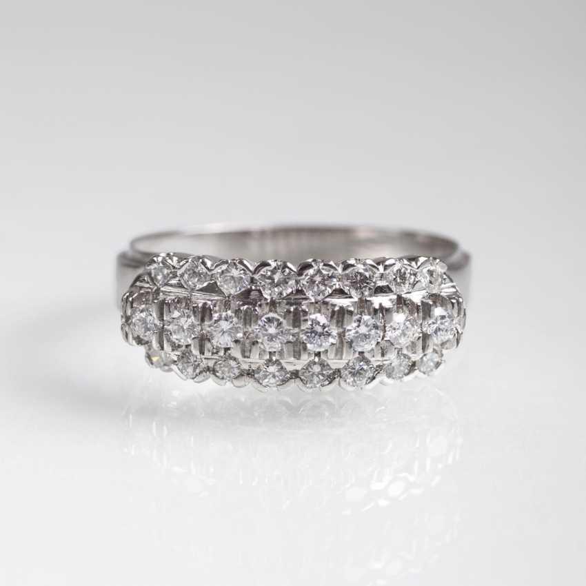 Platin-Brillant-Ring - photo 1