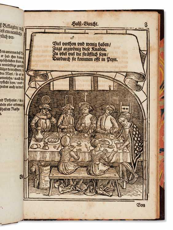 SCHWARZENBERG, Johann Freiherr von (1463-1528) Bambergische ... - photo 1