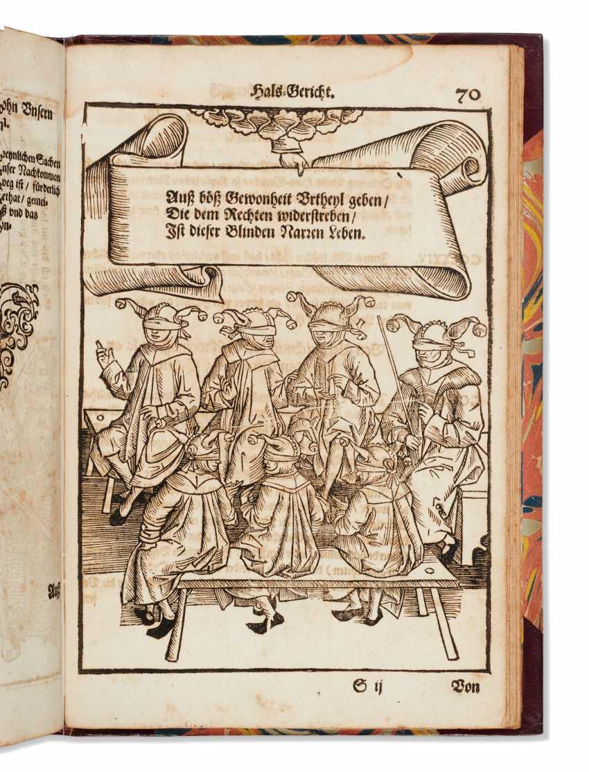 SCHWARZENBERG, Johann Freiherr von (1463-1528) Bambergische ... - photo 2