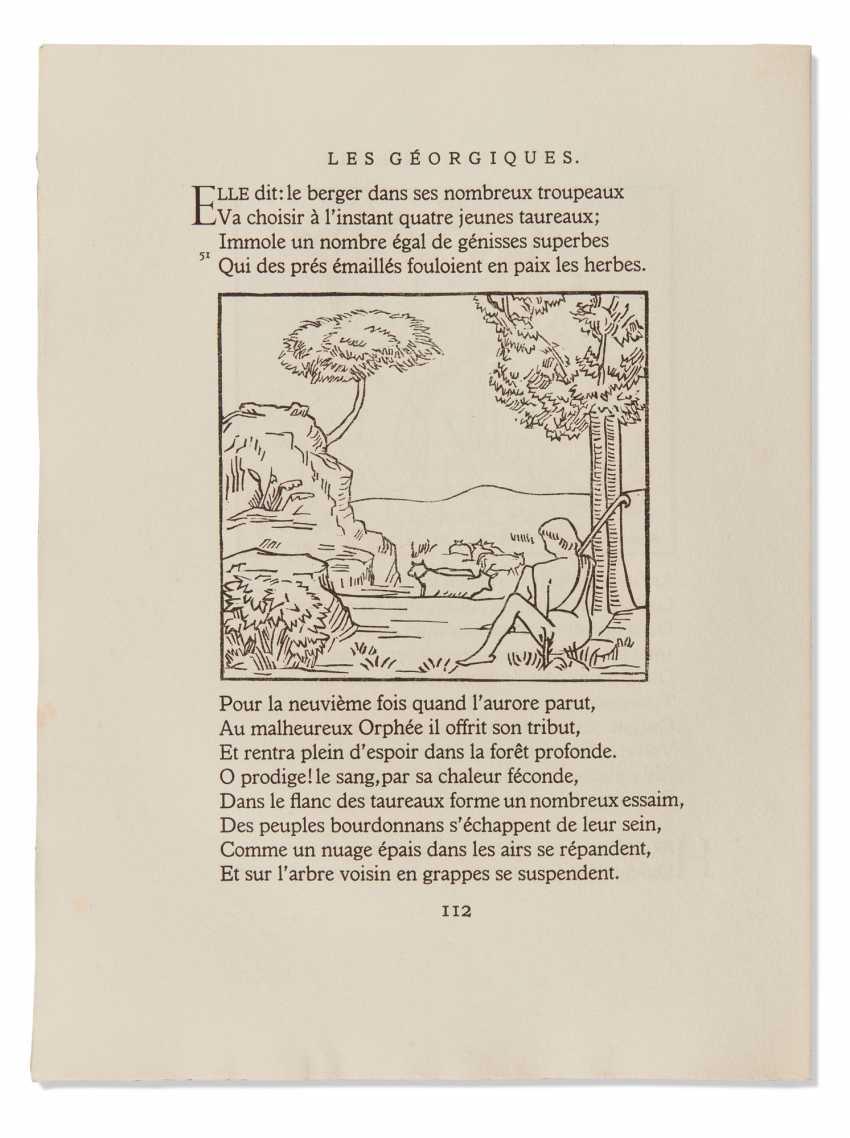 MAILLOL, Aristide (1862-1944) – VIRGILE (70 av J-C-19 av JC)... - photo 1