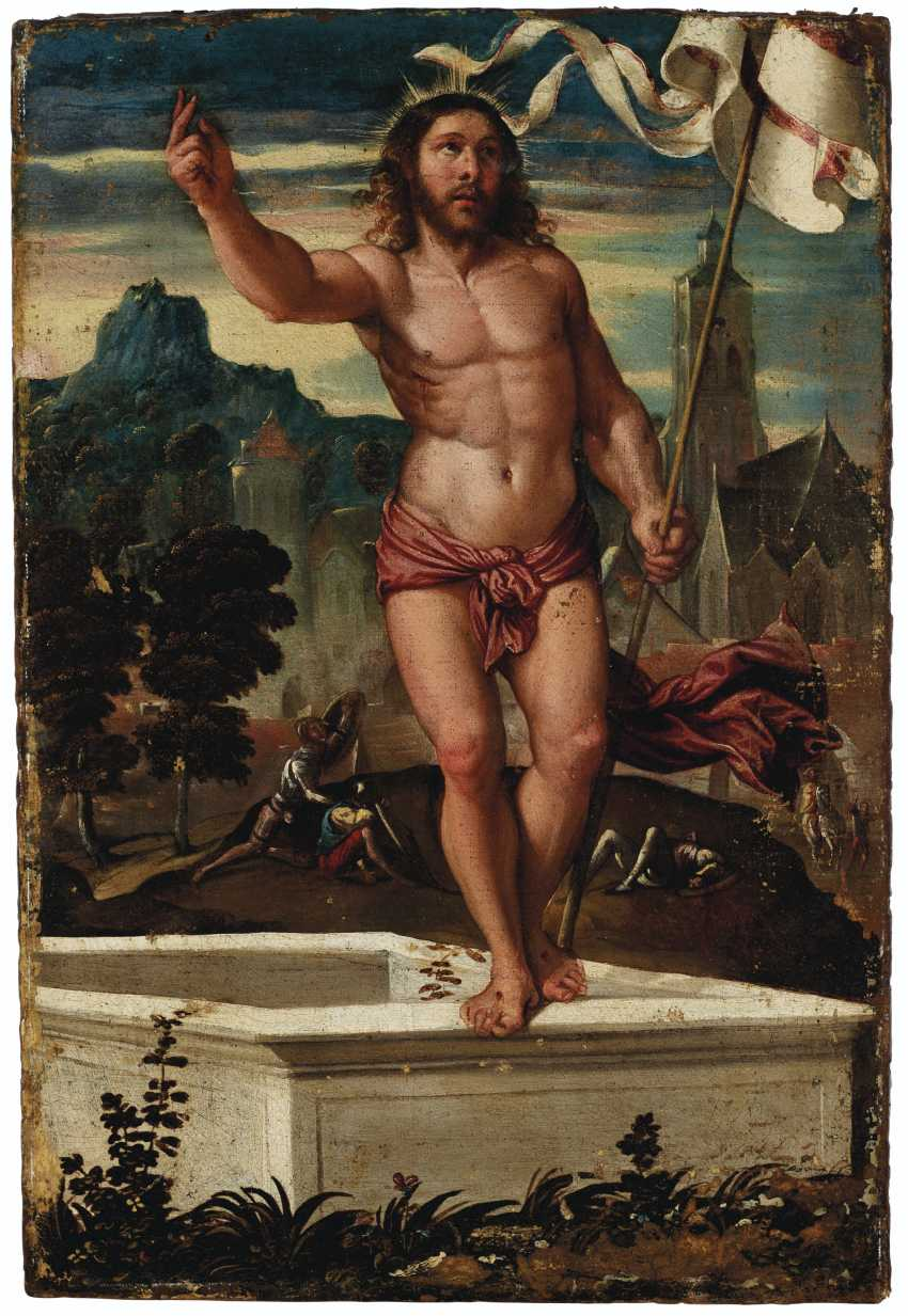 ATTRIBUTED TO GIROLAMO DA SANTACROCE (SANTA CROCE, BERGAMO 1480/5-1556 VENICE) - photo 1