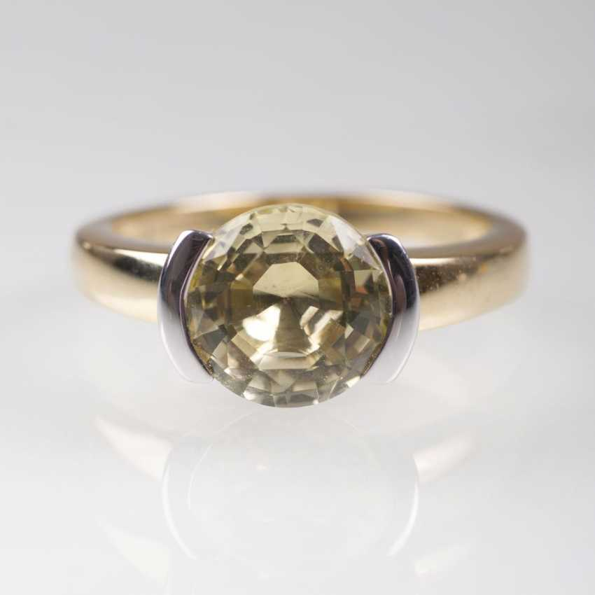 Lemon-Citrin-Ring - photo 1