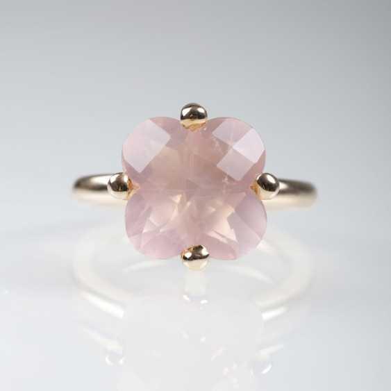 Rose Quartz Ring - photo 1