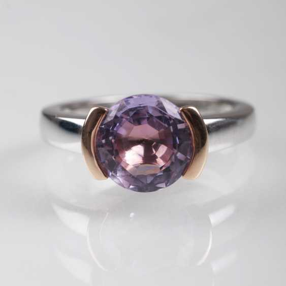 Color of fine, modern Amethyst Ring - photo 1