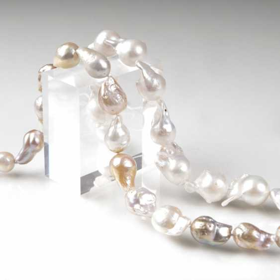 Two Freshwater-Cultured Pearls Strands - photo 1