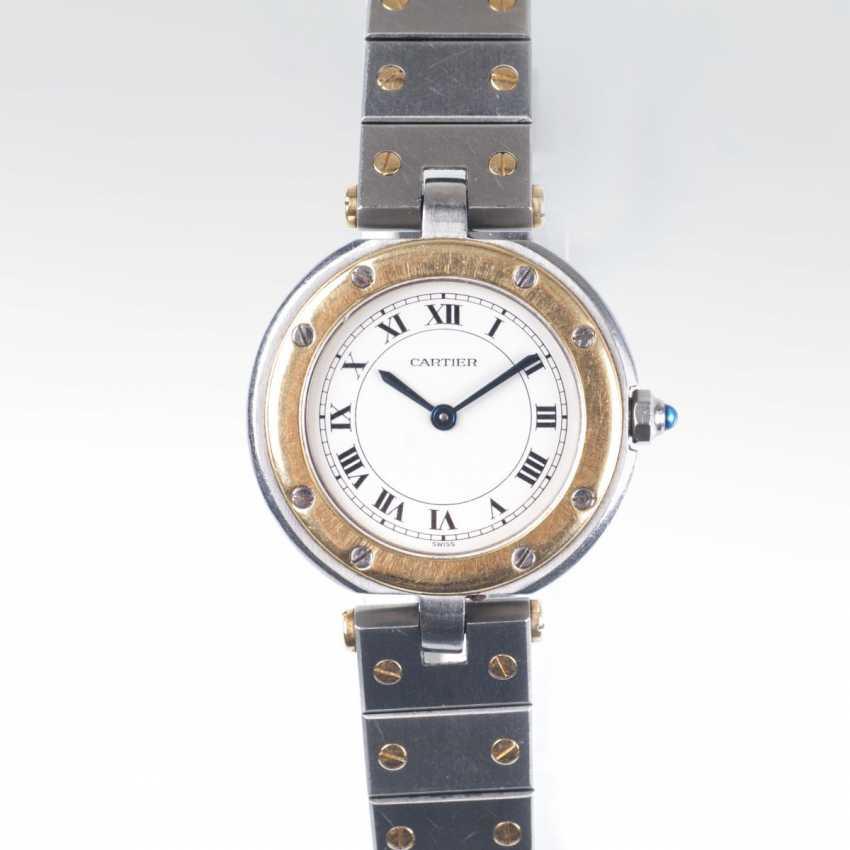 Cartier founded in 1847 in Paris. Women's Wrist Watch 'Santos Vendome' - photo 1