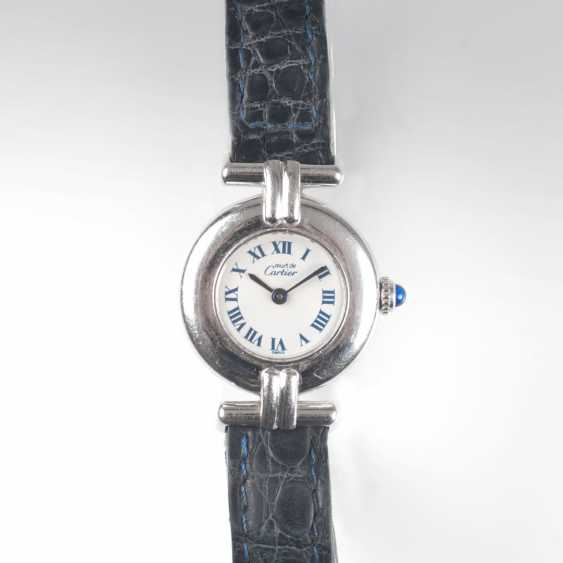 Cartier founded in 1847 in Paris. Ladies wrist watch Must de Cartier Vendome' - photo 1
