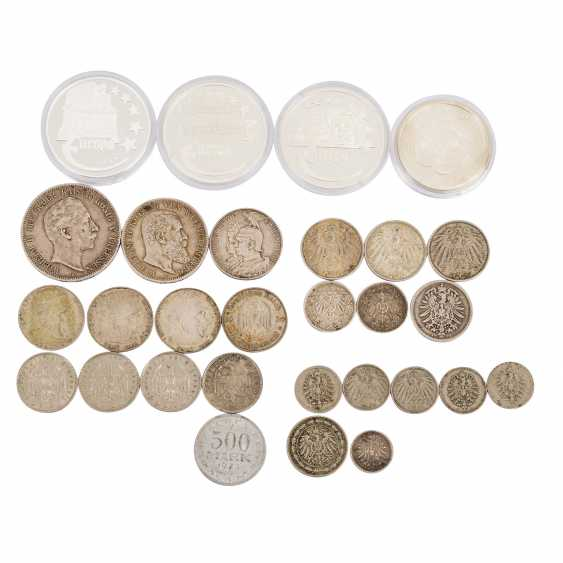 Germany Lot of coins and medals - photo 1