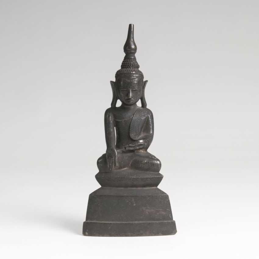 Bronze-Figur 'Buddha Shakyamuni' - photo 1