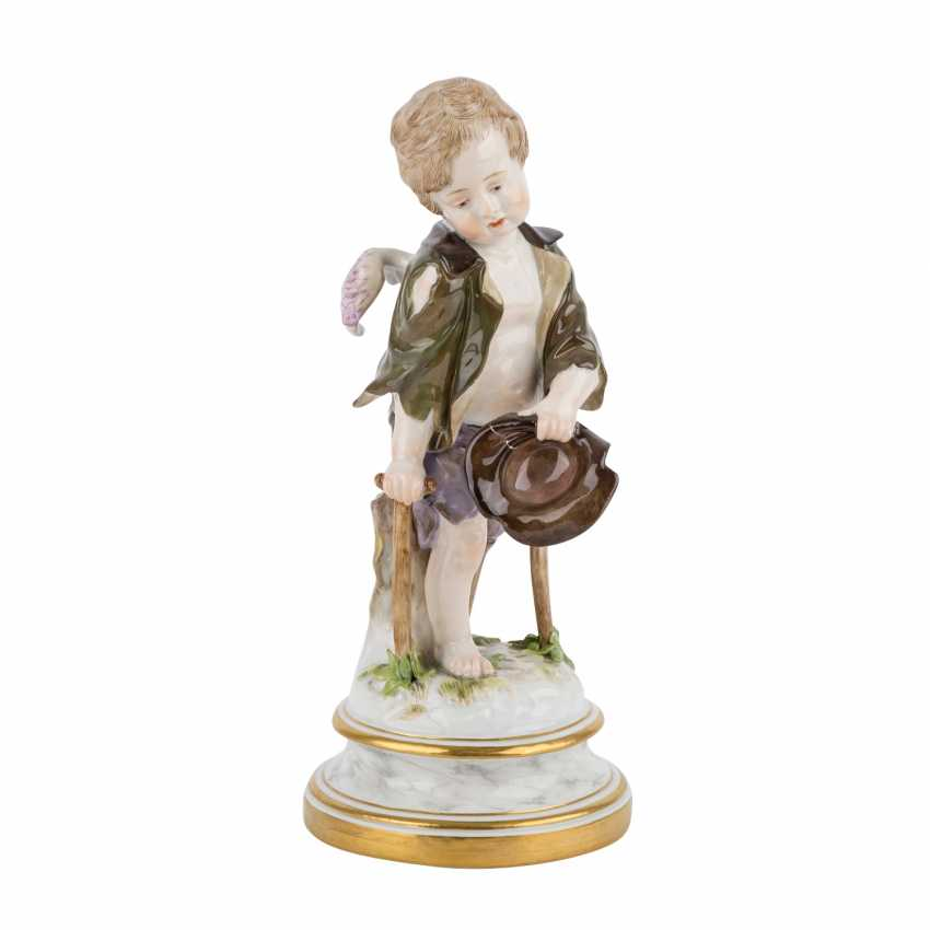 MEISSEN 'Cupid as a beggar', after 1860. - photo 1
