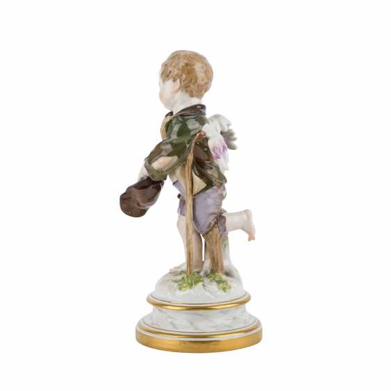 MEISSEN 'Cupid as a beggar', after 1860. - photo 3