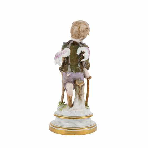 MEISSEN 'Cupid as a beggar', after 1860. - photo 4