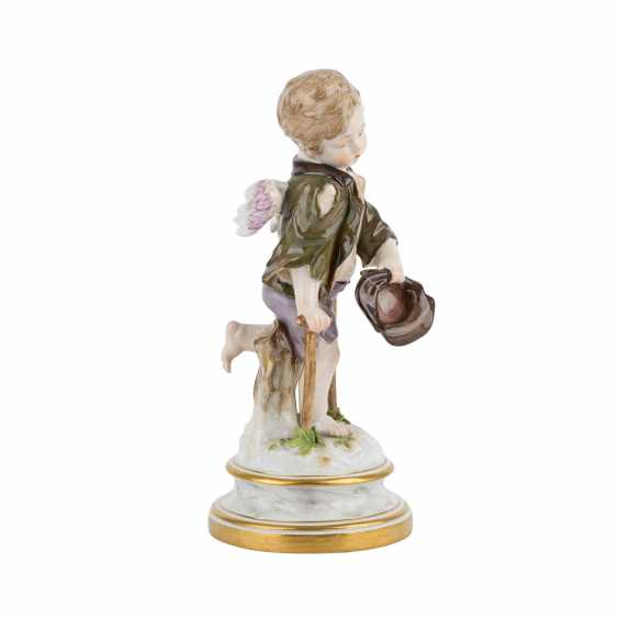 MEISSEN 'Cupid as a beggar', after 1860. - photo 5