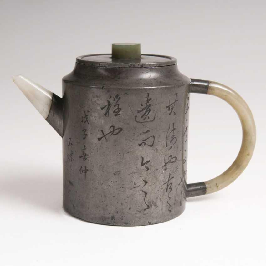 Chinese Tin Pot - photo 1