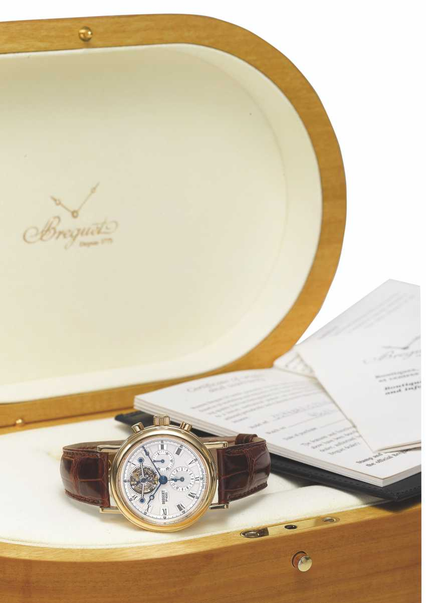 BREGUET, GOLD TOURBILLON CHRONOGRAPH, REF. 3577 - photo 2