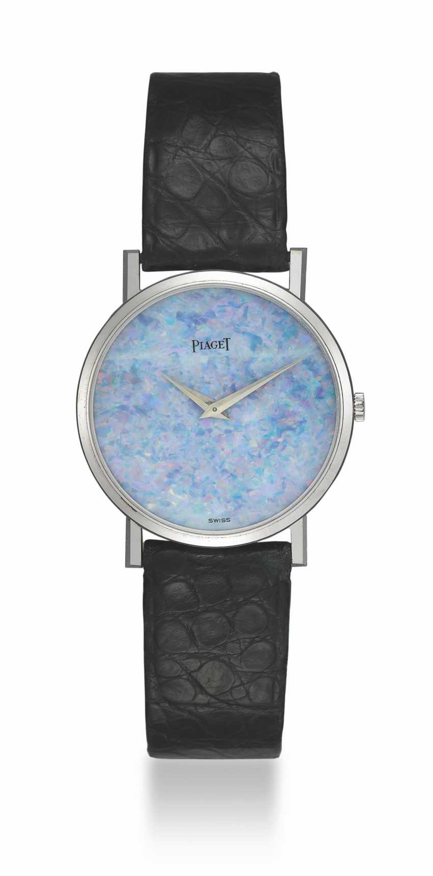 PIAGET, WHITE GOLD WITH OPAL HARD STONE DIAL - photo 1