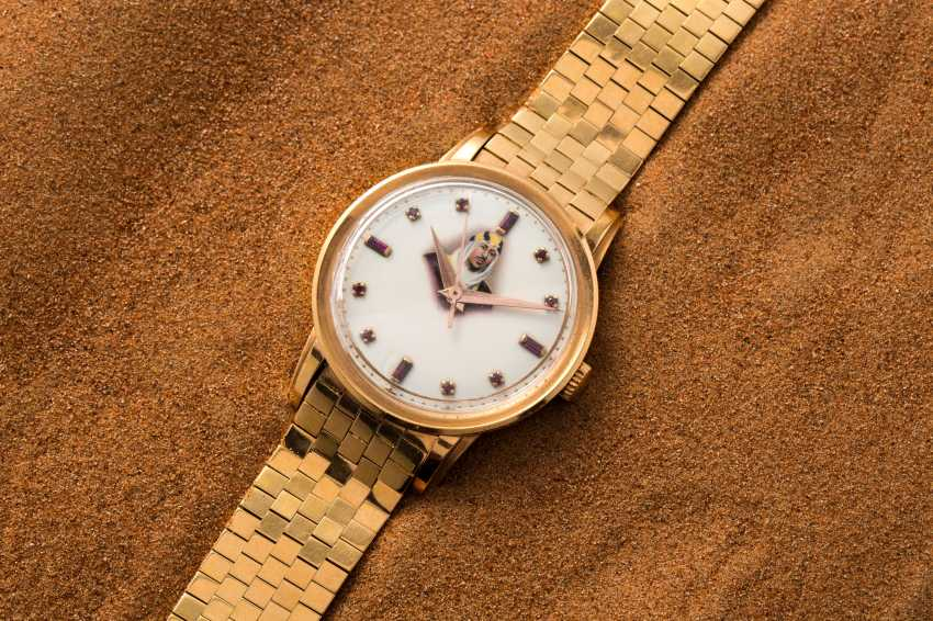 PATEK PHILIPPE, PINK GOLD AND RUBIES, REF. 2481 - MADE IN HOMAGE OF KING SAUD BIN ABDULAZIZ AL SAUD - photo 1