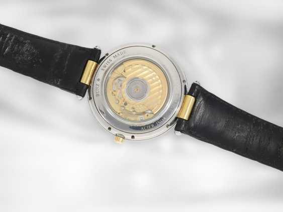 "Wrist watch: unusual and rare men's designer watch, Bunz ""Moontime"" Ref. 27014332, steel / gold - photo 2"