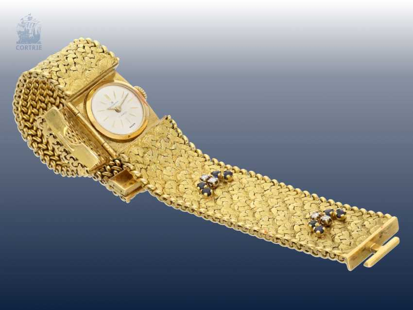 Wrist watch: unusual and very high quality vintage cocktail watch from Bucherer, around 1960 - photo 2