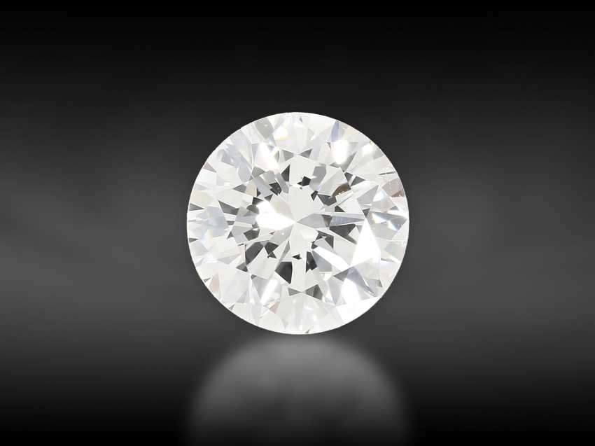 Brilliant: very fine brilliant diamond in top quality, approx. 0.79 ct, from the collection of Hofjuwelier Roesner - photo 1