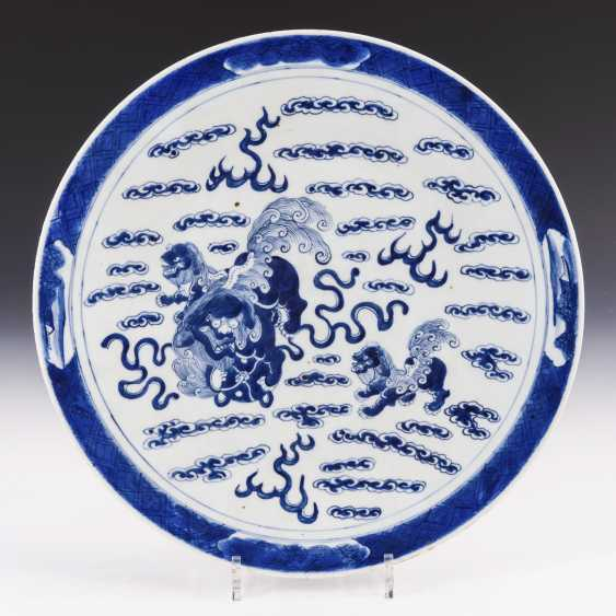 Large plate with palace lions - photo 1