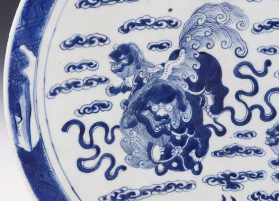 Large plate with palace lions - photo 2