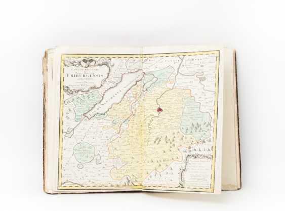 "Large-format hist. Atlas of Switzerland, 18. Century - Gabriel Walser, ""Swiss=Geography. - photo 1"