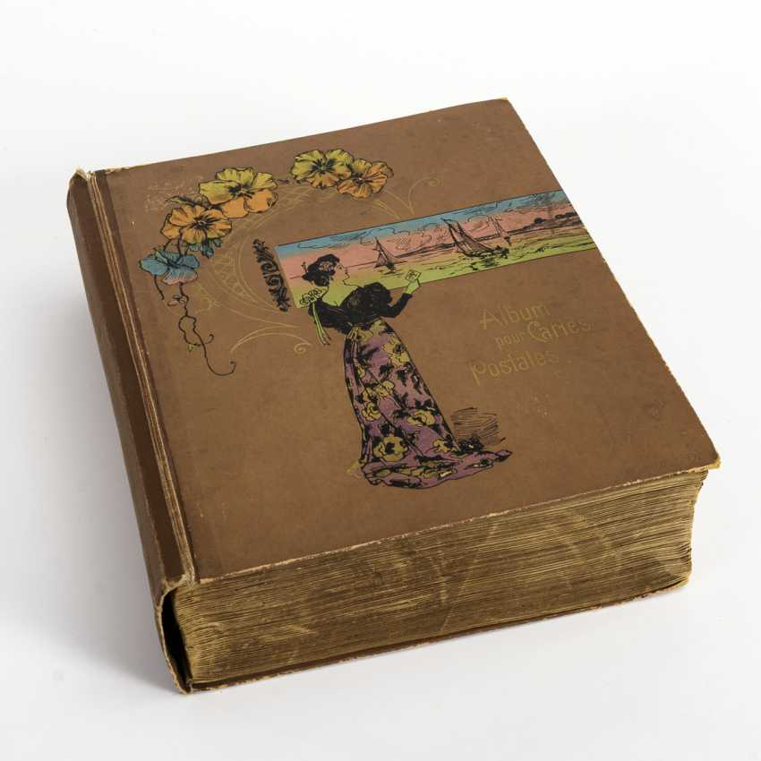 Postcard album with about 1000 cards - photo 1