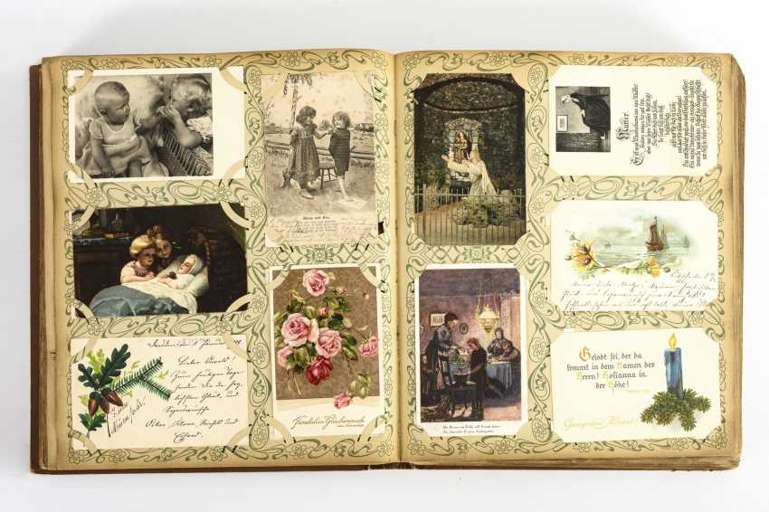 Postcard album with about 1000 cards - photo 2