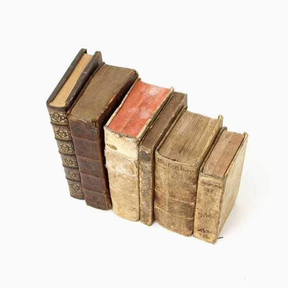 "6-piece collection of religious writings, 17. /18. Century, for example, 1 x, Andreas Leuckart / Franciso Nepven, ""Conside; - photo 3"