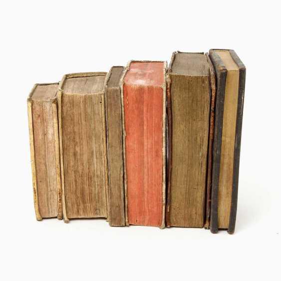 "6-piece collection of religious writings, 17. /18. Century, for example, 1 x, Andreas Leuckart / Franciso Nepven, ""Conside; - photo 4"